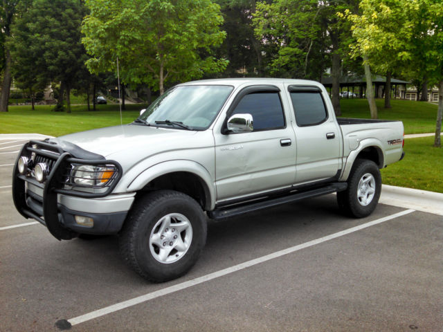 2001 toyota tacoma double cab limited 4x4 v6 new frame diff lock timing belt etc. Black Bedroom Furniture Sets. Home Design Ideas