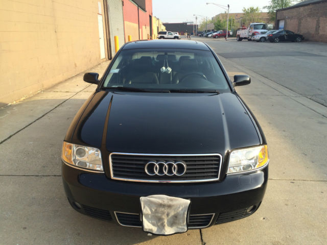 Awd Cars For Sale >> 2002 Audi A6 2 7t Quattro Black On Black Awd Cars For Sale