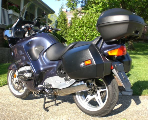 2002 bmw r1150rt very nice bike with gps many extras only 25 018 miles. Black Bedroom Furniture Sets. Home Design Ideas