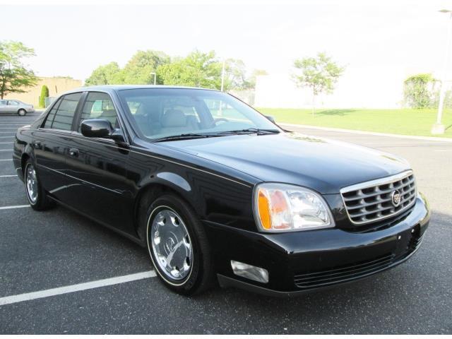 2002 cadillac deville dhs only 33k oiginal miles black loaded 1 owner rare find vehicles markets com