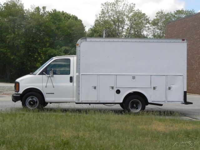 2002 Chevrolet Express 3500 Cutaway Box Van 14ft 5 7l