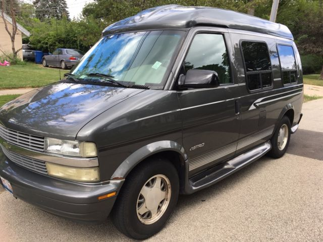 2002 Chevy Astro Conversion Van With High Top