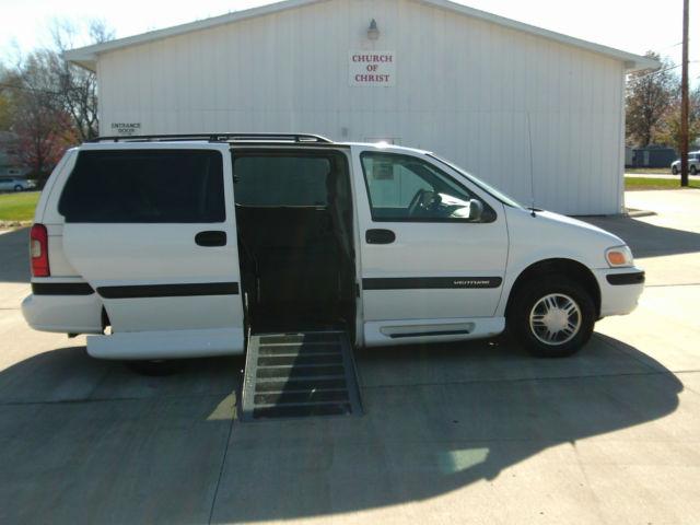 2002 Chevy Venture Handicap Wheelchair Van