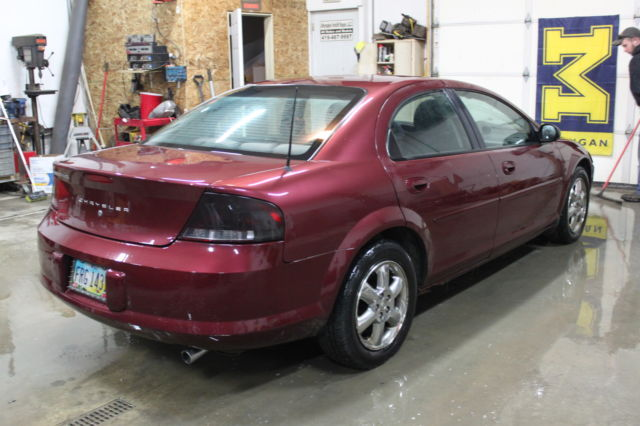 2002 Chrysler Sebring LX Plus Sedan 4Door 27L