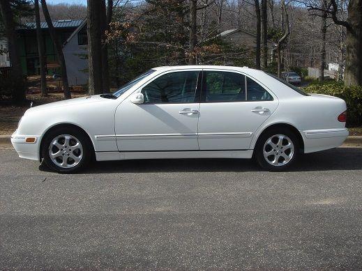 2002 e320 sedan white w grey interior. Black Bedroom Furniture Sets. Home Design Ideas