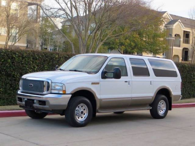 2002 Ford Excursion Limited 7 3l Diesel 4x4 3rd Row 2 Owner Mint Condition 2003