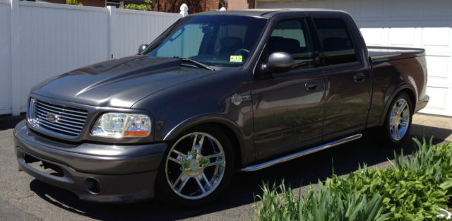 2002 Ford F-150 Harley-Davidson Edition Crew Cab Pickup 4 ...