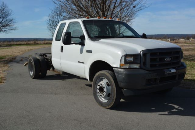 a5538b0748 2002 Ford F450 Super Duty - Cab   Chassis 7.3 Liter 6 speed - Runs great -  PTO