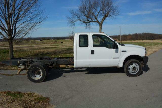 23ffd23bc5 2002 Ford F450 Super Duty - Cab   Chassis 7.3 Liter 6 speed - Runs ...