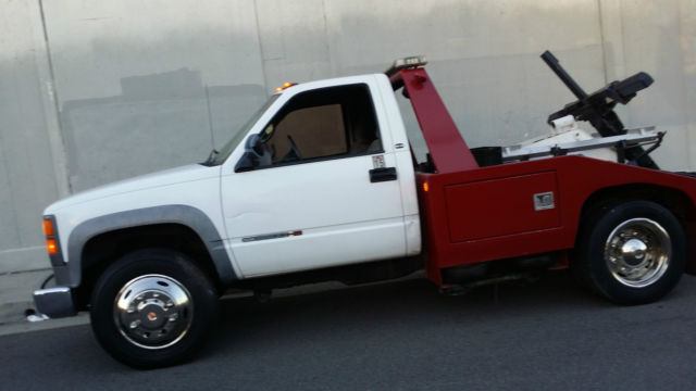 2002 GMC 3500HD DIESEL SLE TOW TRUCK WRECKER not chevy or ford
