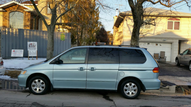 2002 Honda Odyssey EX L Mini Passenger Van 5 Door 3.5L ROOF RACK /TOWING  PACKAGE