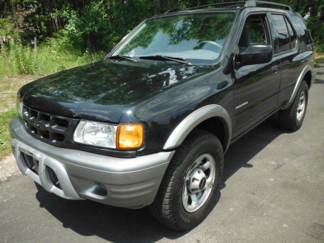 2002 Isuzu Rodeo LS 4X4 4DOOR 3 2 LITER 6 CYLINDER WITH COLD AIR