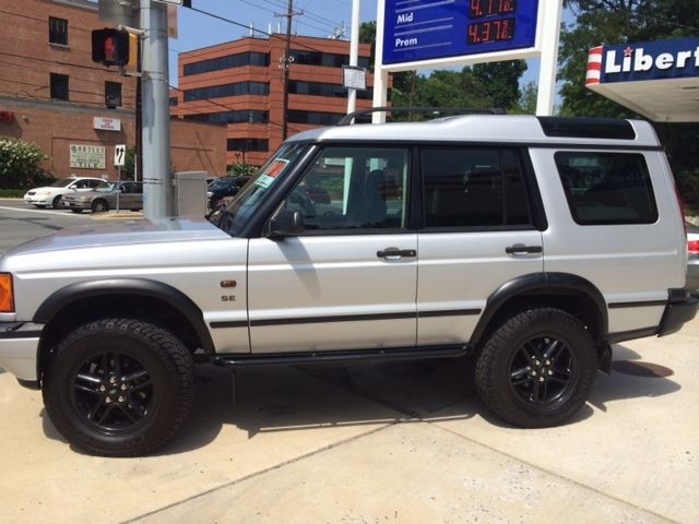 2002 Landrover Discovery Westminster Edition Silver
