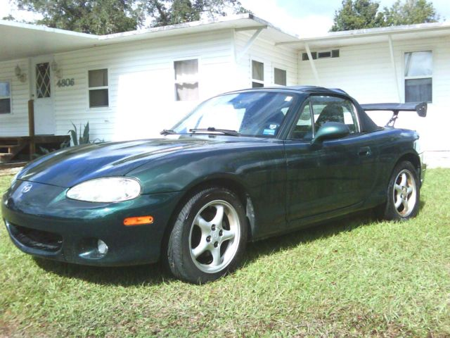 2002 mazda miata mx3 convertible