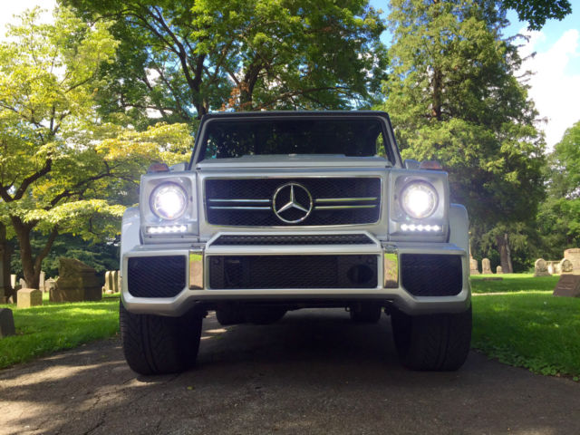 2002 Mercedes-Benz G500 G55 G63 Conversion Face-lifted