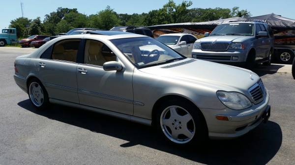 2002 Mercedes Benz S600 V12 Only 77x Miles With Vanilla Interior Amg Wheels