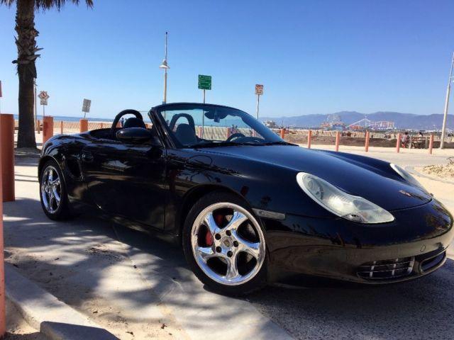 2002 Porsche Boxster S 986 Convertible Black 2 Door Sports