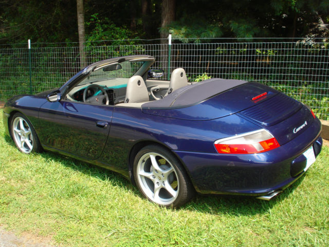 2002 Porsche Carrera 4 Convertible Cabriolet Mint Condition 911