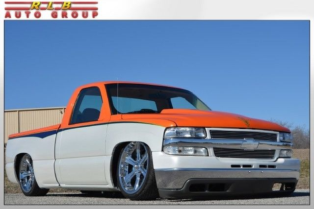 2002 Silverado 1500 Custom Bagged Show Truck! One Of A ...