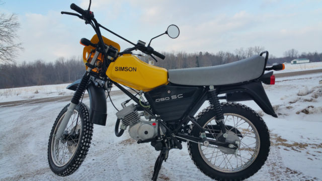 2002 simson 050 sc s53 enduro very rare collectible only 10km. Black Bedroom Furniture Sets. Home Design Ideas
