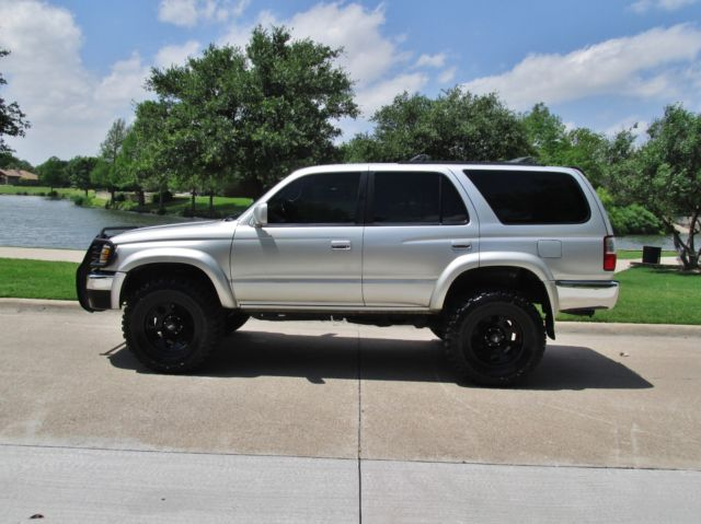 Toyota 4Runner Lifted >> 2002 toyota 4runner 4x4 lifted 33's low miles