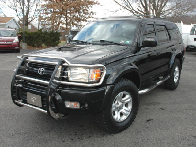 2002 toyota 4runner sr5 sport edition 4wd leather seats clean. Black Bedroom Furniture Sets. Home Design Ideas