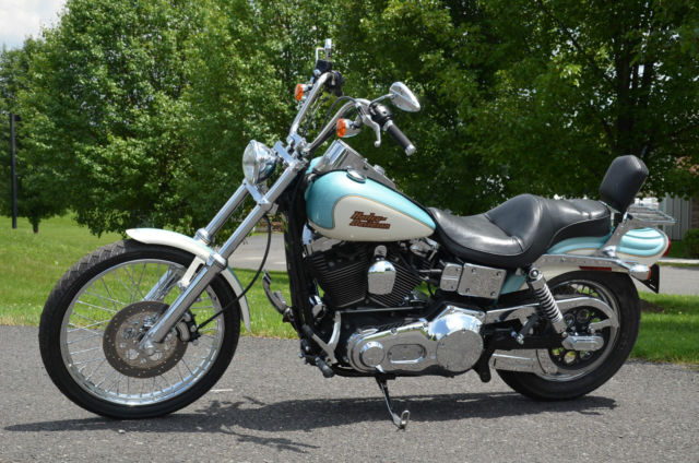 Harley 100 Year Anniversary Bike >> 2003 100th Anniversary Harley Davidson Dyna Wide Glide FXDWG Color Shop Paint
