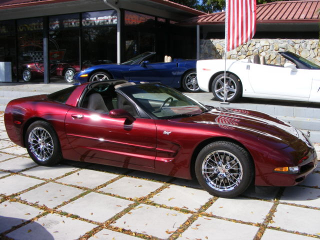 2003 50th Anniversary Corvette Coupe Low Miles Automatic
