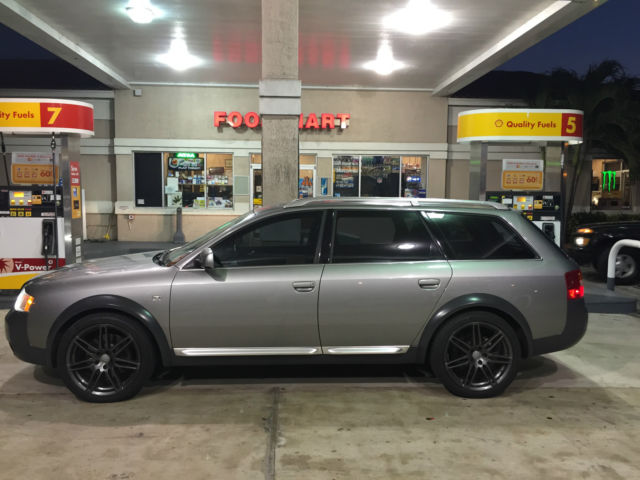 2003 audi allroad 2 7 liter quattro grey immaculate thousands in receipts. Black Bedroom Furniture Sets. Home Design Ideas