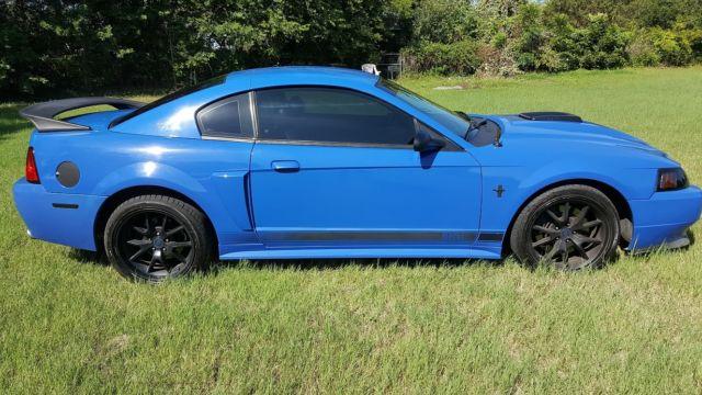 2003 Azure Blue Mach 1 Mustang 5 Speed