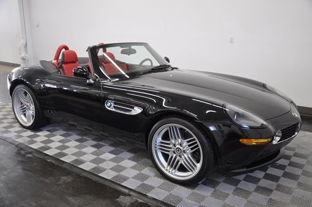 2003 Bmw Z8 Alpina Jet Black Sport Red Amp Black 2 Tone Leather 710 Miles