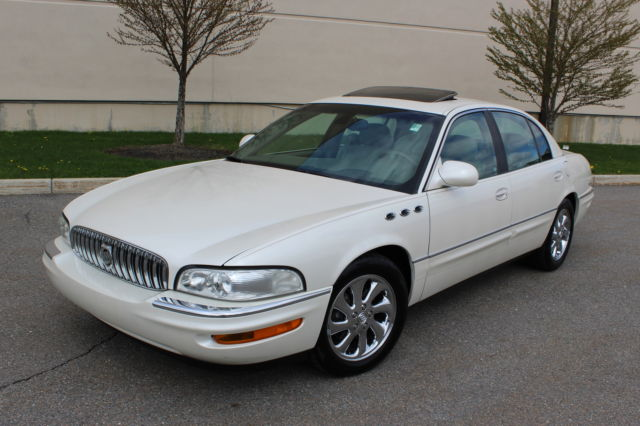 2003 buick park avenue ultra supercharged prestige package 65k miles ave. Black Bedroom Furniture Sets. Home Design Ideas