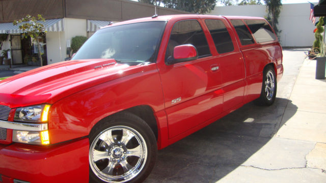 2003 Chevrolet Silverado 1500 SS Extended Cab Pickup- ALL CUSTOMIZED & LOADED!