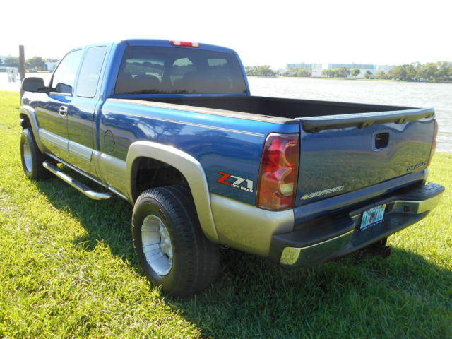 2003 chevrolet silverado 1500 z71 4x4 custom lifted florida truck rust free. Black Bedroom Furniture Sets. Home Design Ideas
