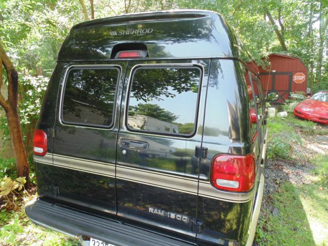 2003 Dodge Ram 1500 Black Sherrod Conversion Van Fully Loaded Low Miles
