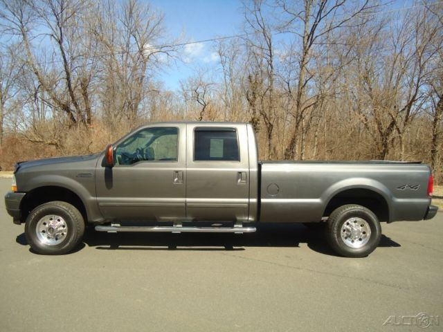 2003 ford f 250 crew cab 4x4 pickup 8ft bed 5 4l v8 auto runs great no reserve. Black Bedroom Furniture Sets. Home Design Ideas