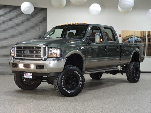2003 ford f-350 king ranch 4wd 6.0l diesel , lifted , a lot of extras