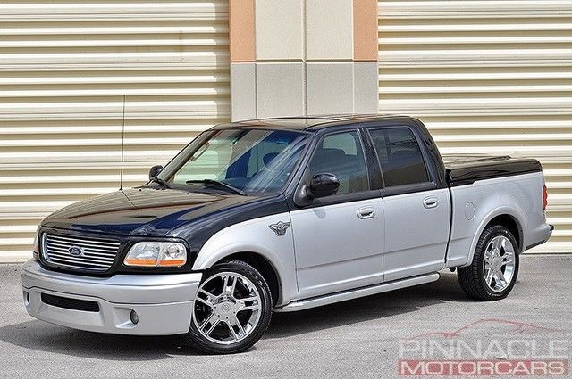 2003 Ford F150 Harley Davidson Supercharged Edition Clean F 150 5 4l