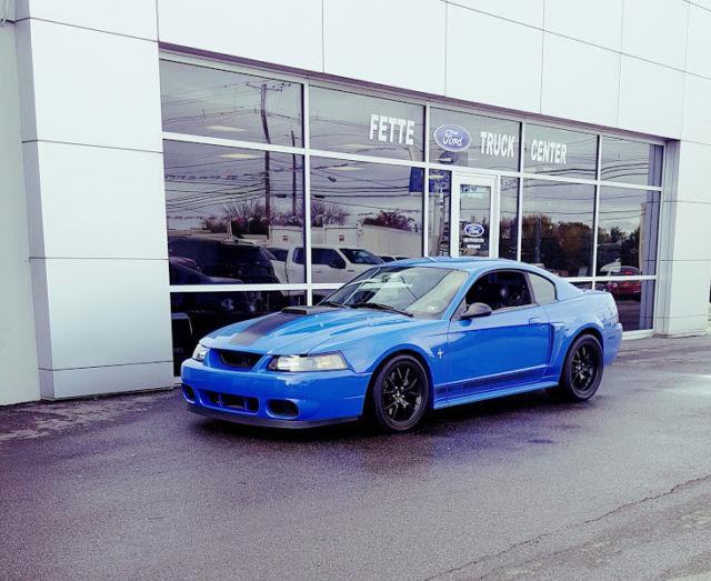 2003 Ford Mach 1 Azure Blue