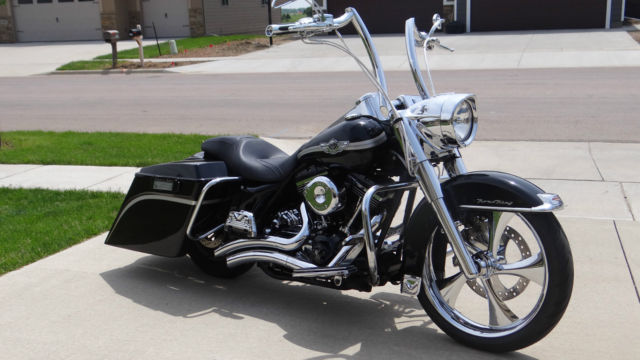 Used Cars Sioux Falls >> 2003 HARLEY DAVIDSON ROAD KING FULL CUSTOM, EXTENDED BAGS 21 INCH FRONT, LOWERED