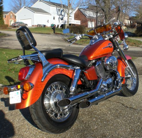 2003 honda shadow 750 ace american classic edition cobra for Dale sharp honda