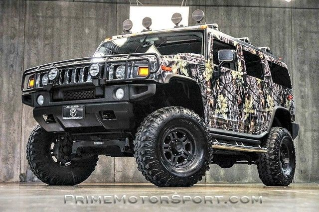 Hummer Gas Mileage >> 2003 HUMMER H2 CUSTOM CAMO WRAP 6IN LIFT WOW