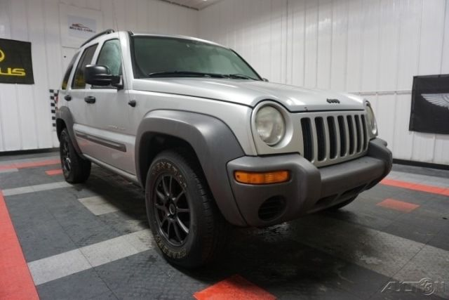 2003 Jeep Liberty Sport 37l V6 4x4 Low Miles Nice 60photos No
