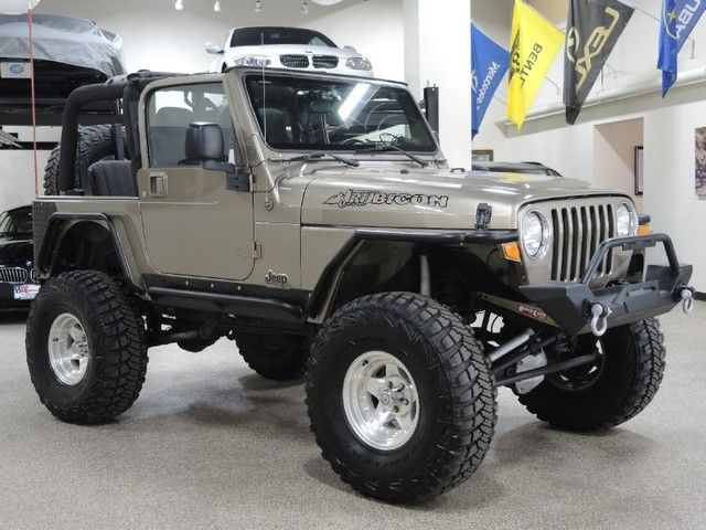 Jeep Wrangler Tj Build >> 2003 Jeep Wrangler Rubicon Completely Custom Build Lifted with Low Miles