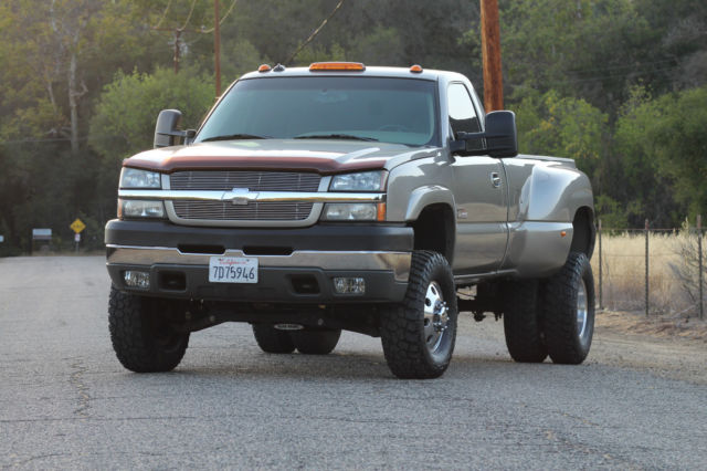 2003 Lifted Chevy 3500 4x4 Duramax Diesel