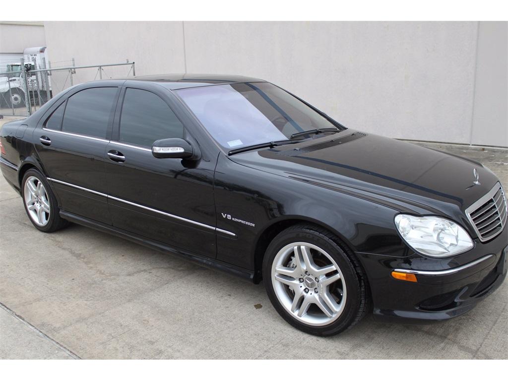 2003 mercedes benz s55 amg v8 5 5l super charged for Mercedes benz black on black