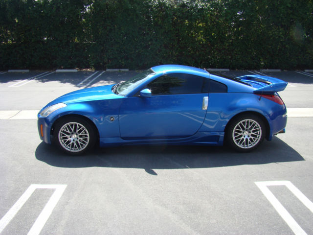 2003 nissan 350z 6 speed manual enthusiast sports coupe. Black Bedroom Furniture Sets. Home Design Ideas