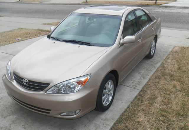 2003 toyota camry xle leather seats moonroof sunroof power low miles nr vehicles markets com