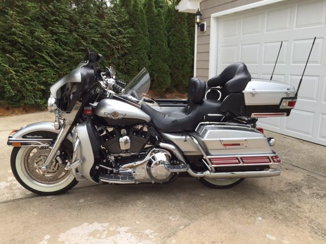 Harley 100 Year Anniversary Bike >> 2003 Ultra Classic Electra Glide with matching Ultra side car.100TH ANNIVERSARY