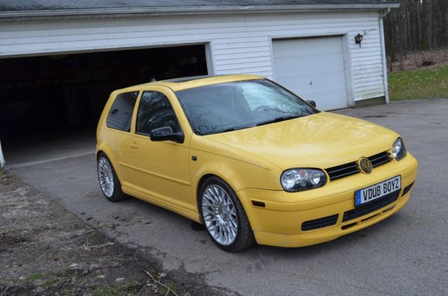 2003 Vw Gti 20th Anniversary Edition Golf Mk4 6 Speed Turbo Import